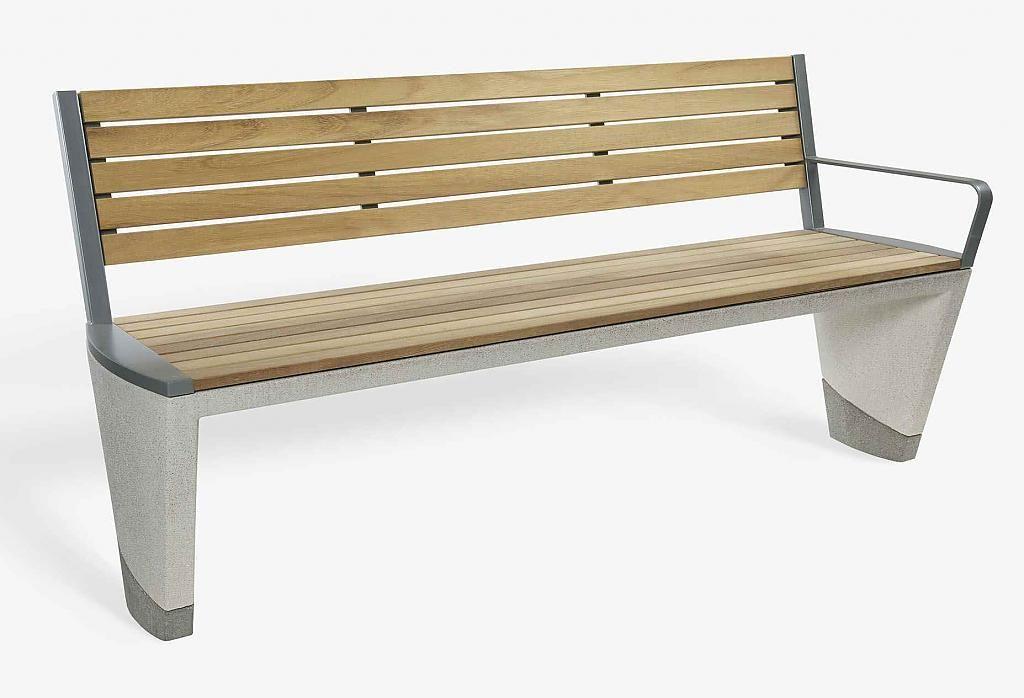 Бетон мебели за градските улици от Coda Алекс Lifschutz и Уудхаус
