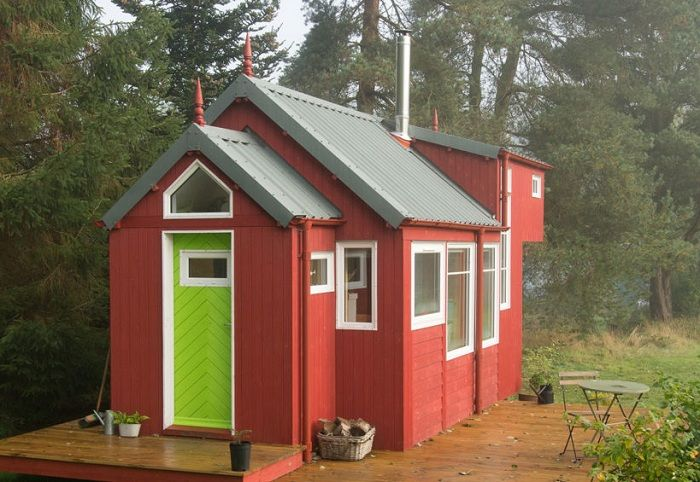 Architectural design of the company Jonathan Avery Tiny House Scotland.
