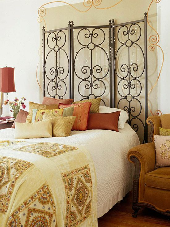 Affordable chic - beautiful headboard. Part 3 (creative)
