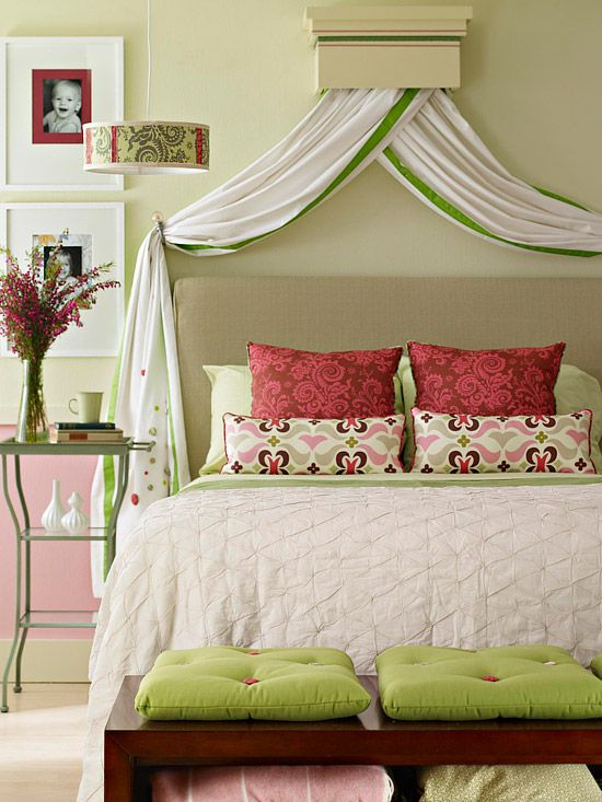 Affordable chic - beautiful headboard. Part 1 (romance)