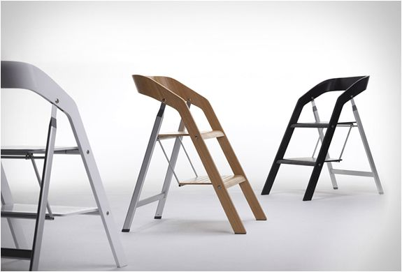 Wonderful chairs, ladders