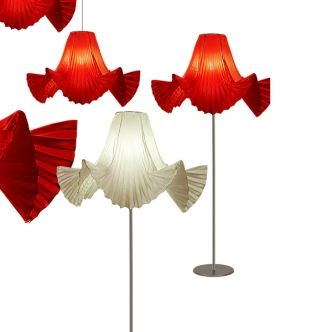 Modern lampshade collection Marilyn Skirts from Alexandra Tuca