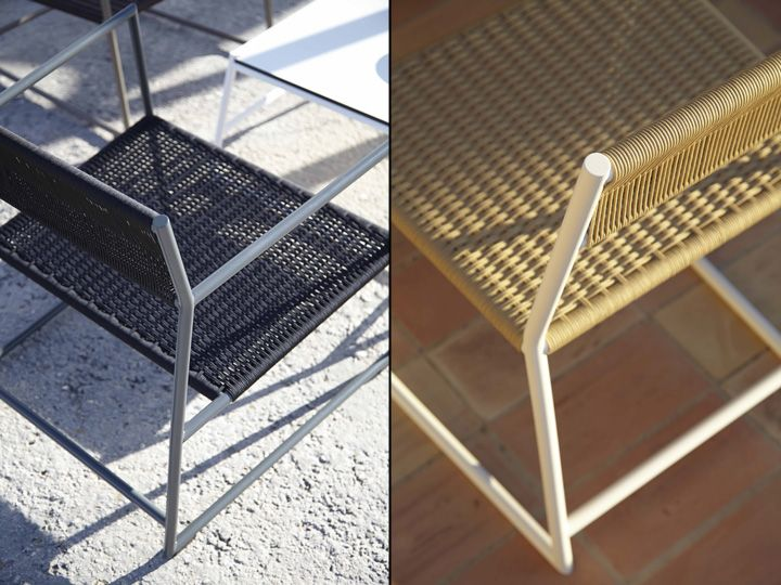 Beautiful outdoor chairs from Mariana Lerma