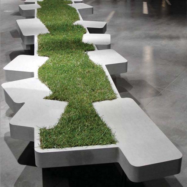 Град пейка с тревата му от Филип Нигро