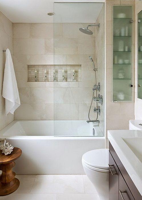 Perfect интериор малки бани: най-добрите идеи за дизайн