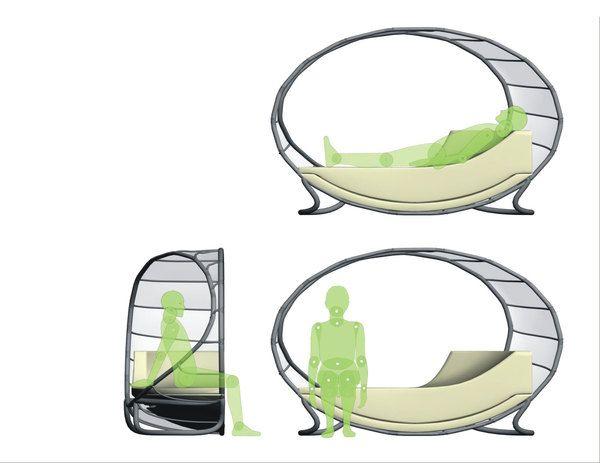 Иновативна аква диван от Източник Открит