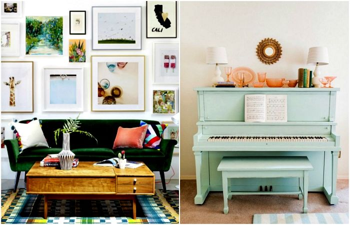 Secrets of stylish and cozy interior.