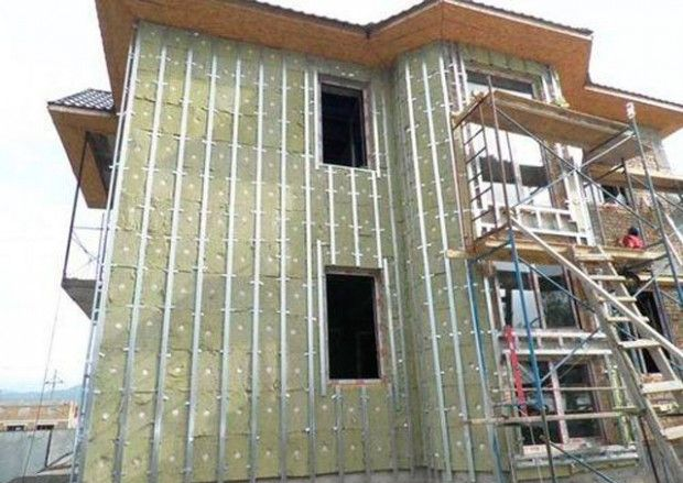 How to sheathe siding house with his own hands?