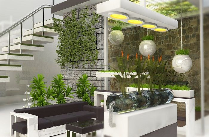 Excellent mood and a good solution to create a mini-garden house, which can be even better.