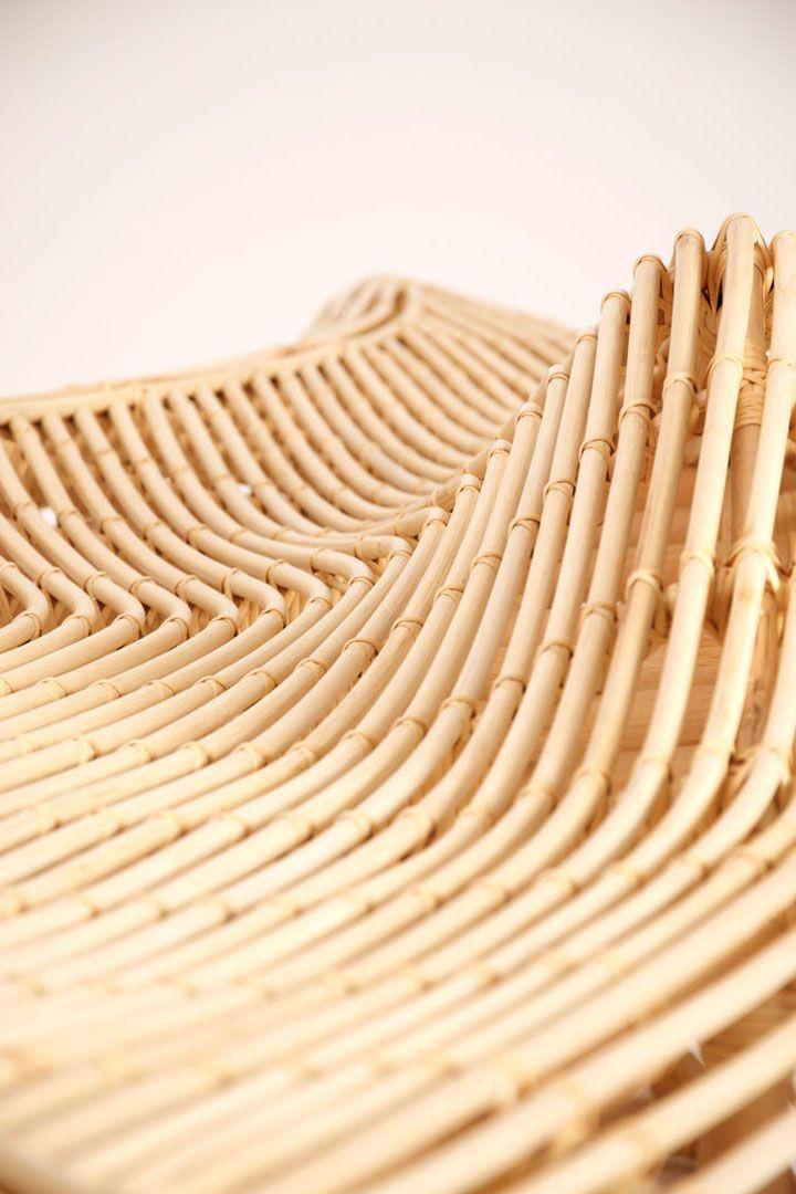 Екологичен пейка ратан от Алвин Tjitrowirjo