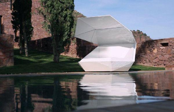 Изключителен диван Faz от испанския архитект Ramon Esteve