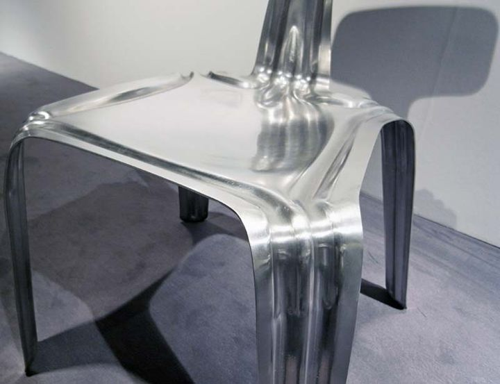 Extra seat extruded aluminum chair