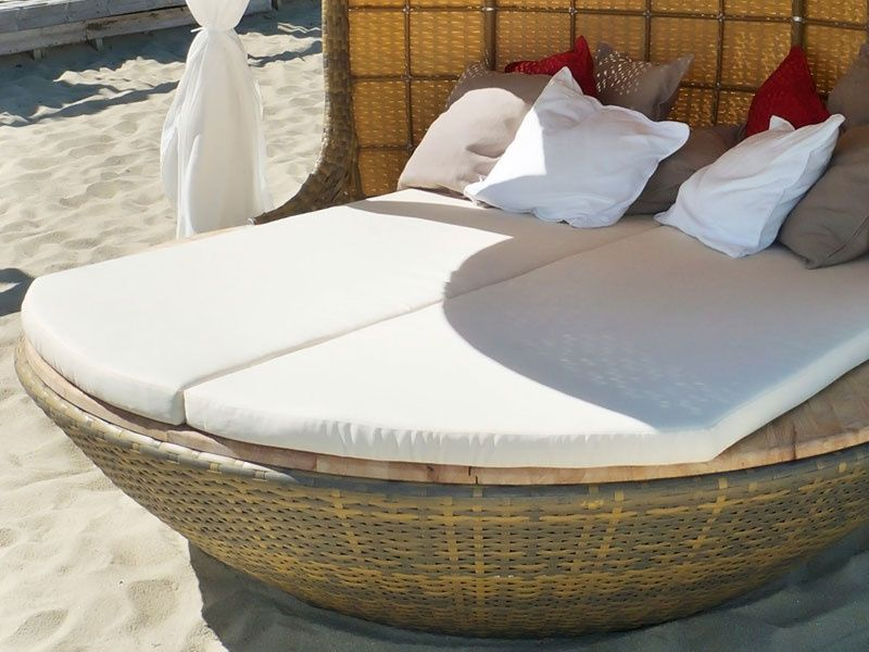 Perfect for the beach house with soft sunbeds