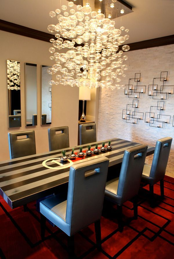 Wall sconces in the design of interior spaces