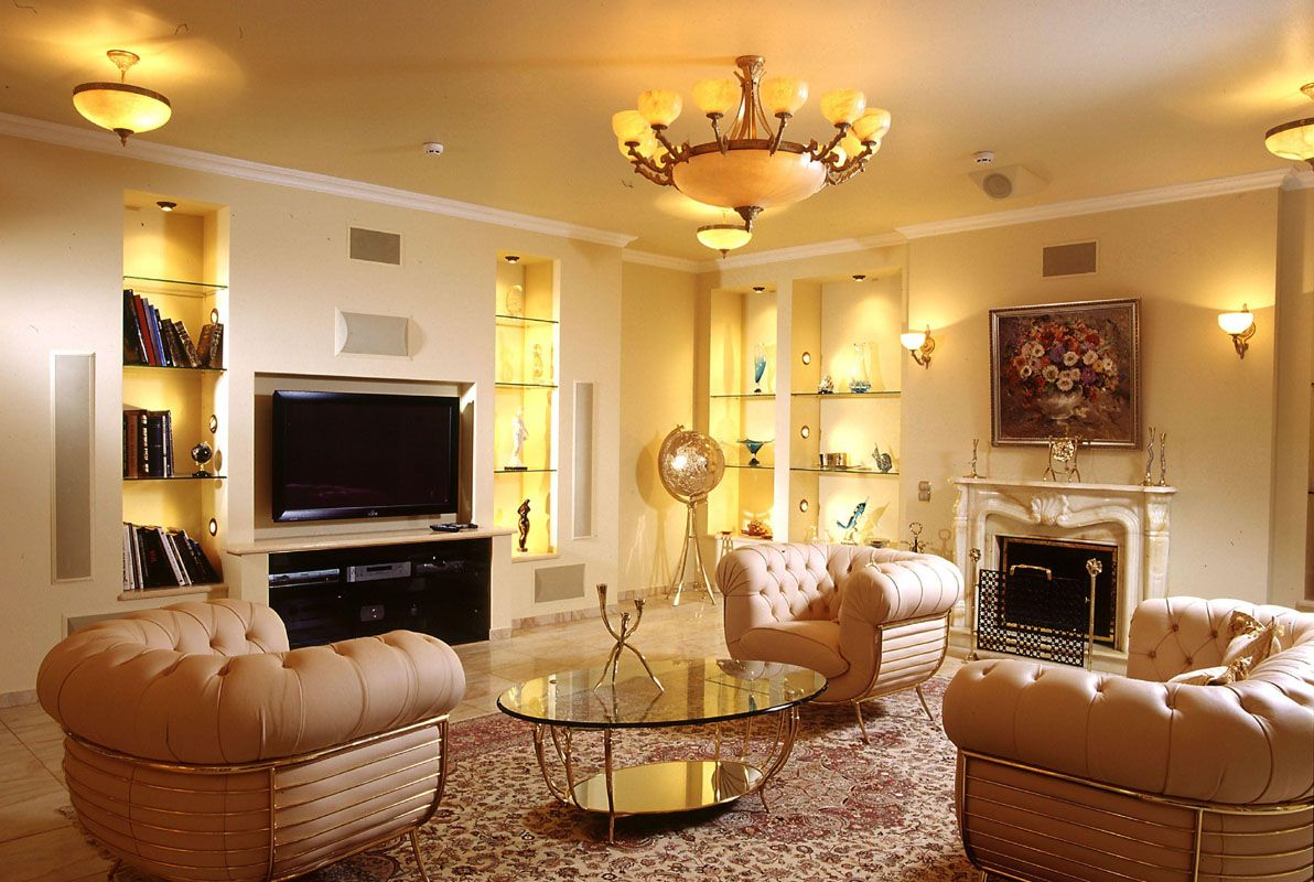 Beautiful lighting living area