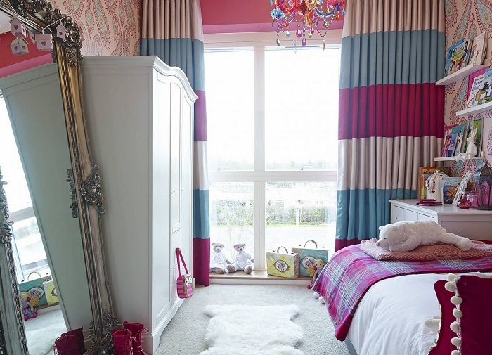 Cute bedroom interior will cool solution for the transformation of this room.