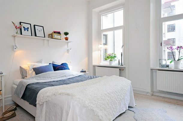 Chalmers_hqrKak improve the bedroom in a rented apartment: 7 Simple sovetovoom_ru_12