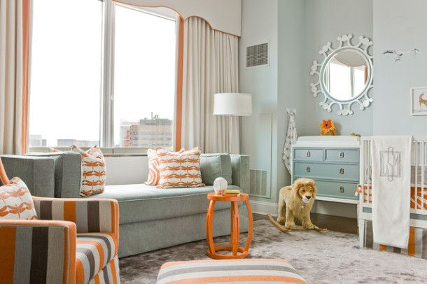 how to choose a color for the nursery