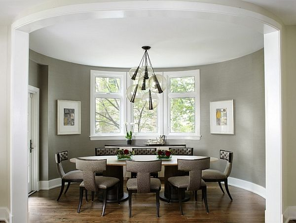 Stylish gray room