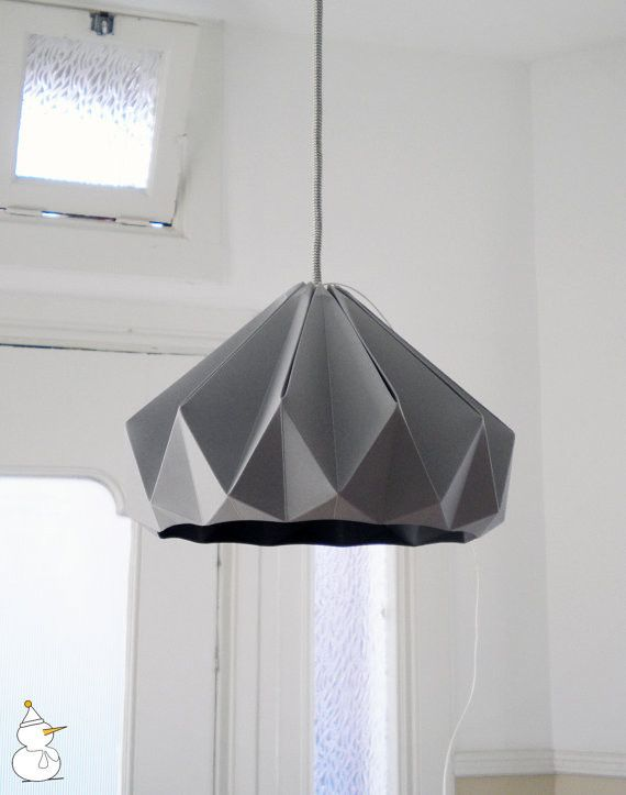 Exquisite pendant lamp in the form of origami