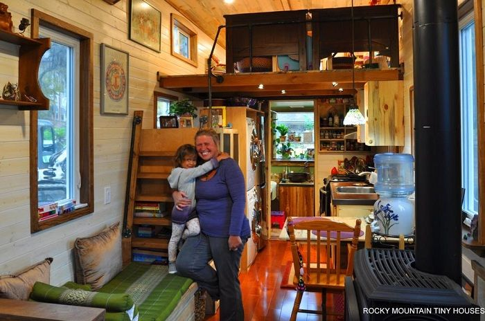 The project of the American architectural firm Rocky Mountain Tiny Houses.