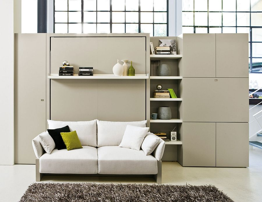 Bed-трансформатор: уникалната система, компактност и функционалност за малки апартаменти