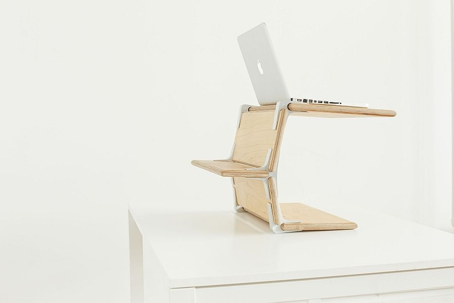 Cross stand for laptop