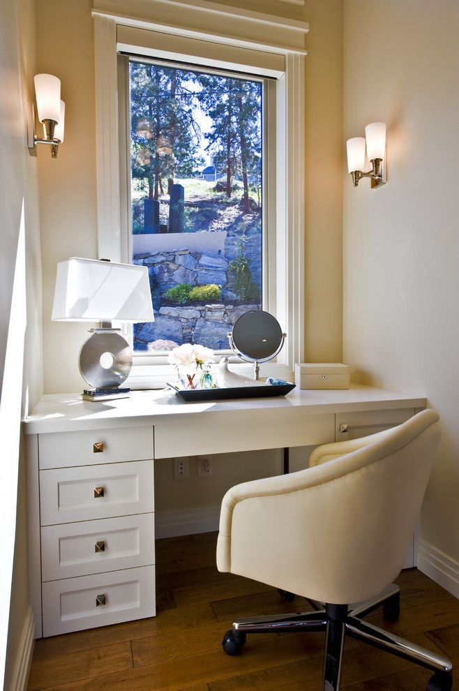 Paired sconces in your home office