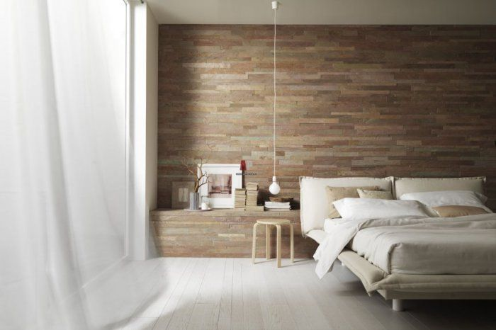 Natural materials are ideal for the bedroom.
