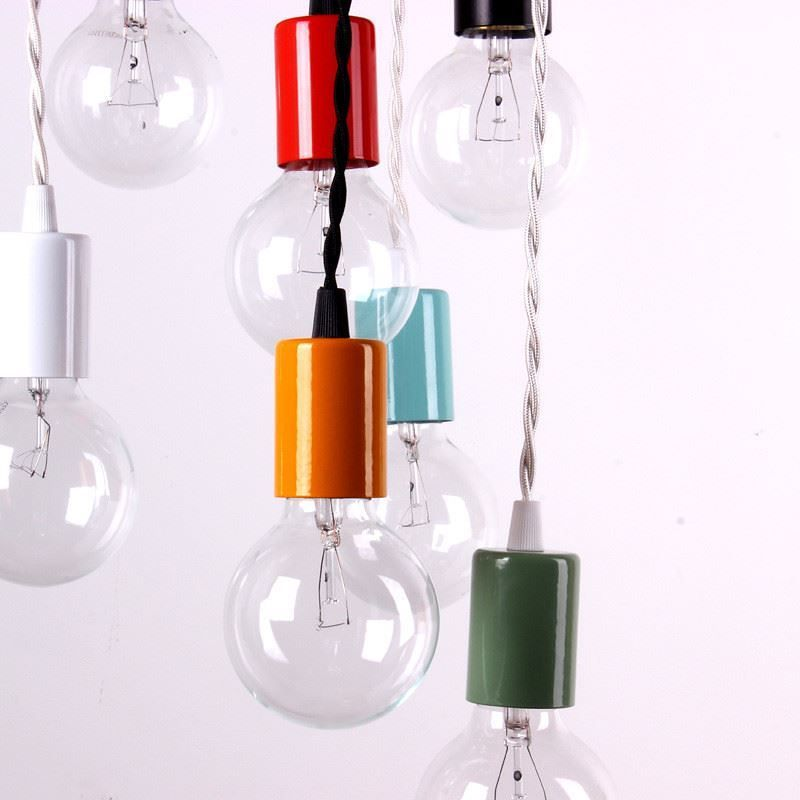 Colored light bulbs from onefortythree