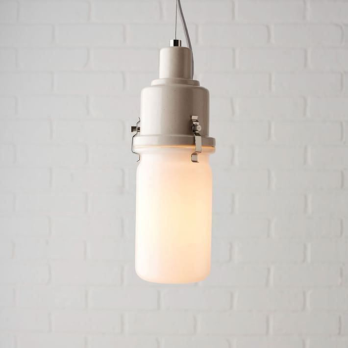 An interesting lamp from West Elm