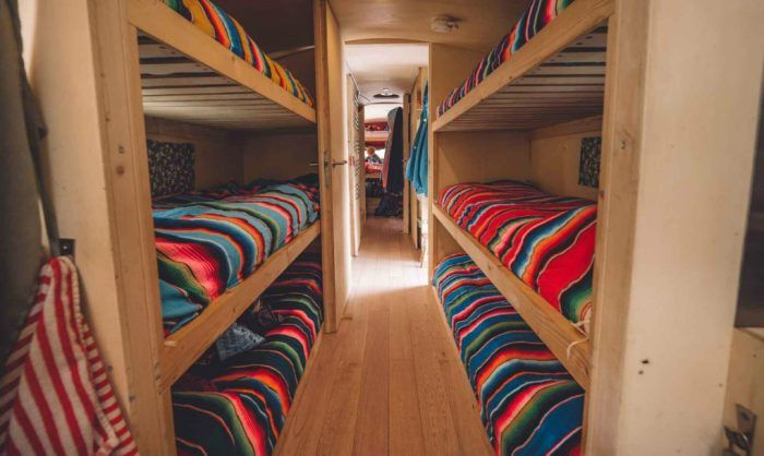 Къща на Travel: настаняване, преобразувана от стар автобус