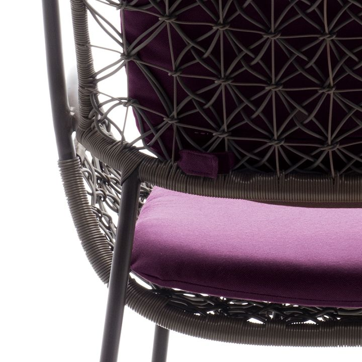 Form texture of elegant chairs
