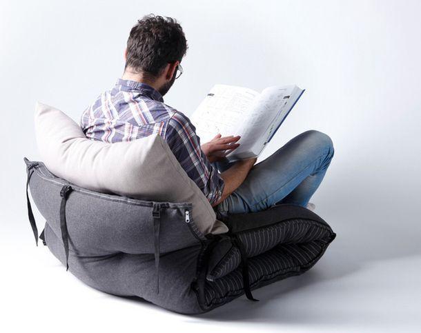 Новостта на вътрешния интериор на света - матрак, стол-табуретка