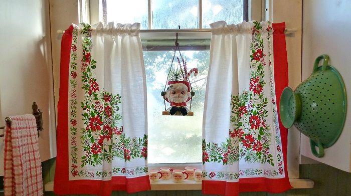 интериор на Нова година: 26 интересни идеи ukrashaniya ваканционни прозорци