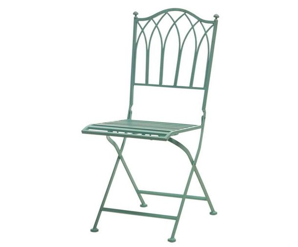 Folding chair for the garden