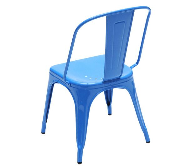 Blue chair for the garden