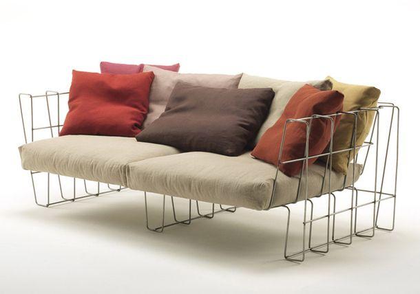 Оригиналният мебели и аксесоари за улицата