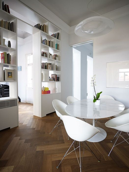 Оригинални и практични идеи за пространство зониране в стаите: 25 ярки примери