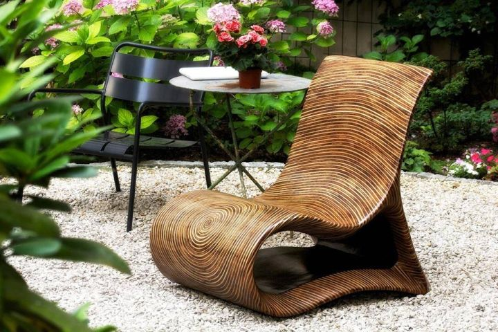 Beautiful chair for the terrace or garden