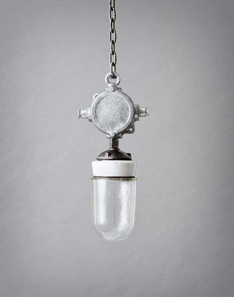 Beautiful hanging lamp from the collection of Vintage Industrial Matt Szaplonczai
