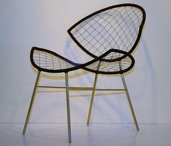 Оригинални интериорни декорации - Fishnet стол от Karre
