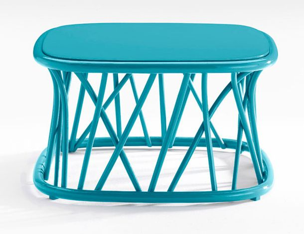 Turquoise coffee table Traccia