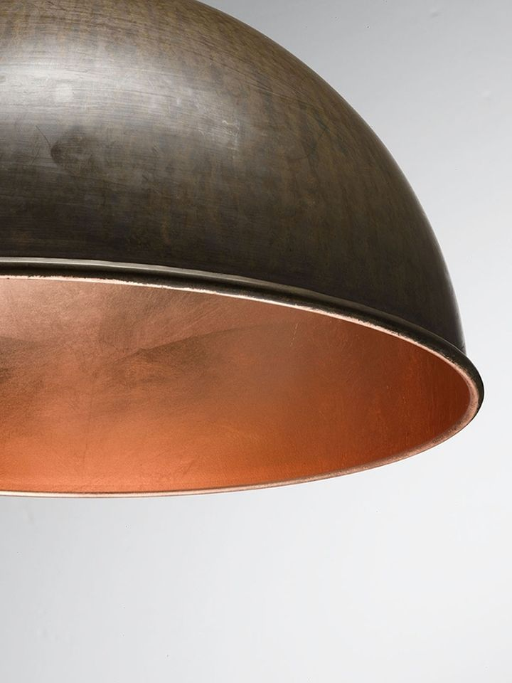 Copper foil in the internal decoration of the ceiling lamp Galileo