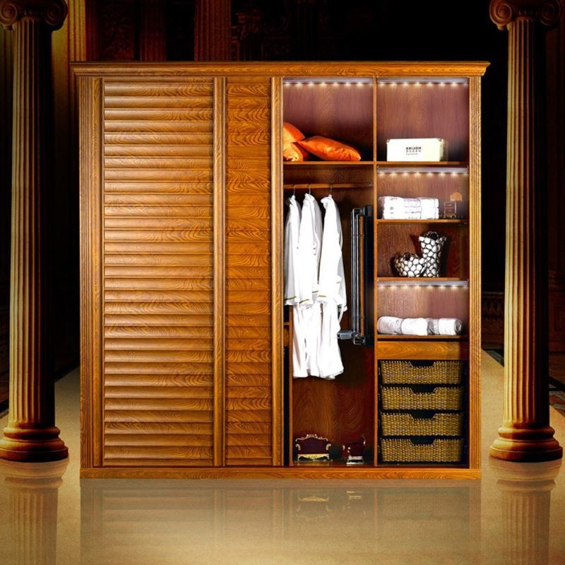 Design wardrobe with lighting organization KEDSUM