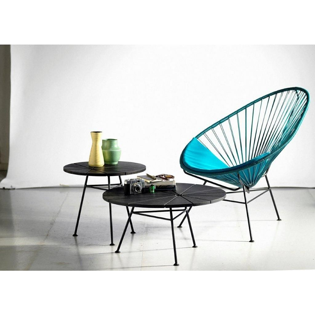 Figured Acapulco chair
