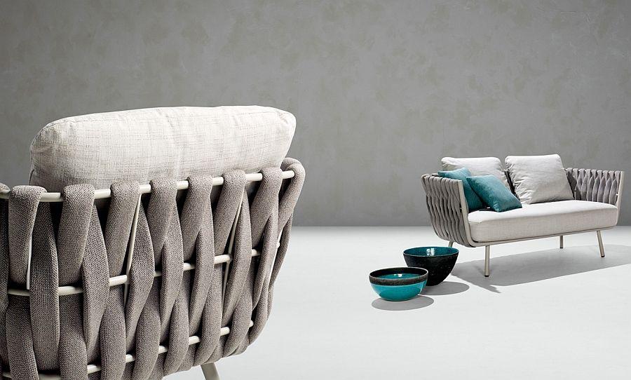 Атрактивна колекция от мебели за зоната, в Тоска Collection Basin, отвори вратата към света на лукса