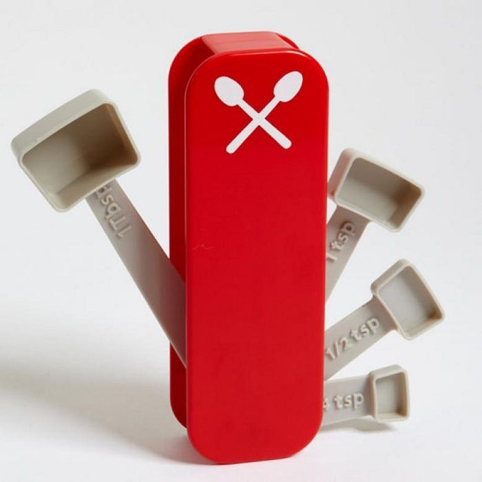 Swiss knife in the style of scoops that will be a godsend for any kitchen.