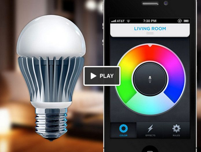 Light control application on your phone