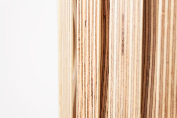 Weaving plywood Upcycle lamp on Benjamin Spoth